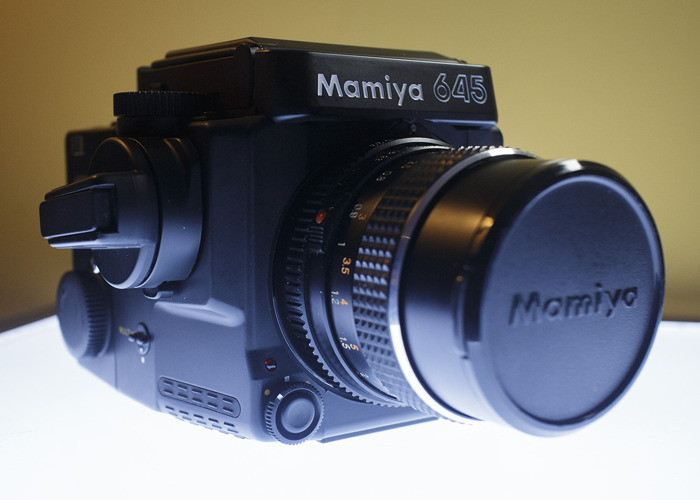 Mamiya 645 Super 120 film camera - 1