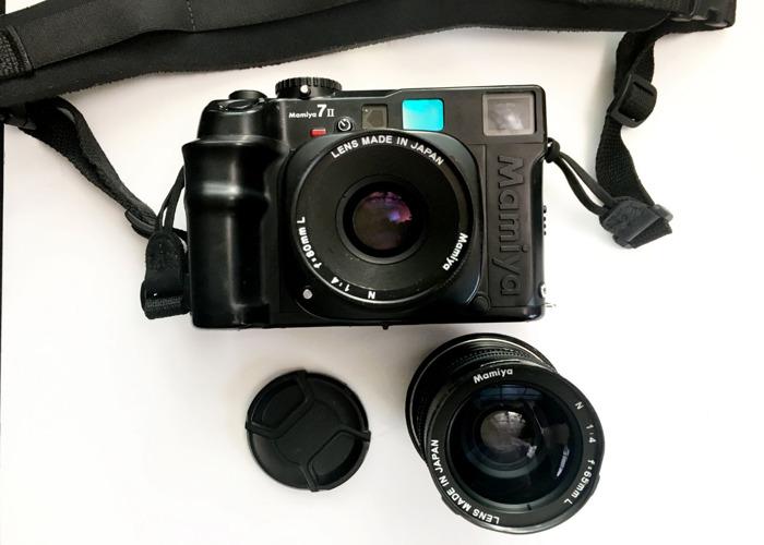 Mamiya 7ii with 80mm and 65mm lenses medium format camera - 1