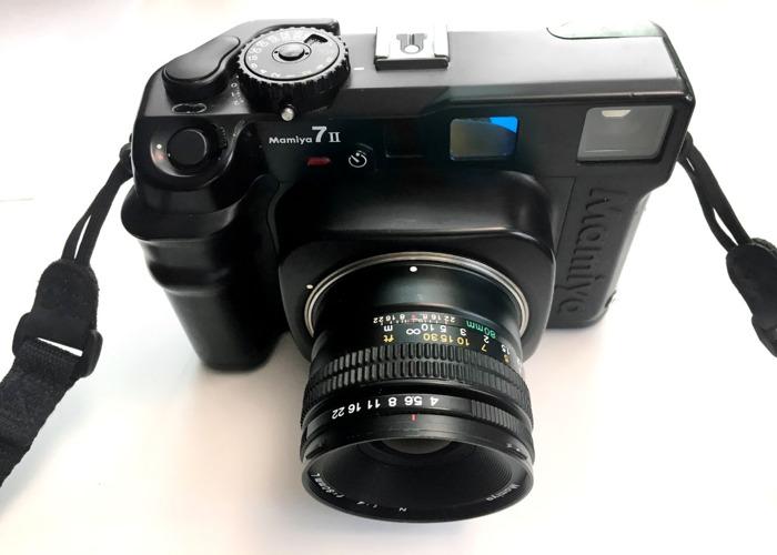 Mamiya 7ii with 80mm and 65mm lenses medium format camera - 2