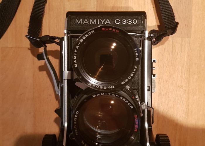 Mamiya C330 Professional F Medium Format Camera - 1