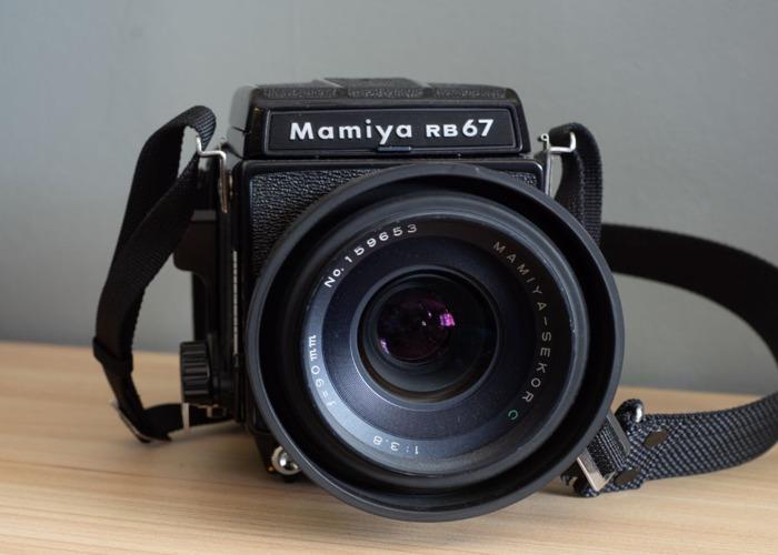 Mamiya RB67 90mm F3.8 - 1