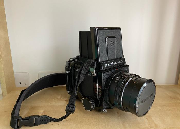 Mamiya RB67 Pro S Medium Format Camera 90mm 3.8 - 1