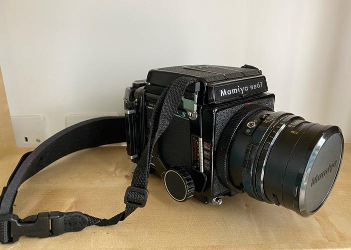Mamiya RB67 Pro S Medium Format Camera 90mm 3.8 - 2