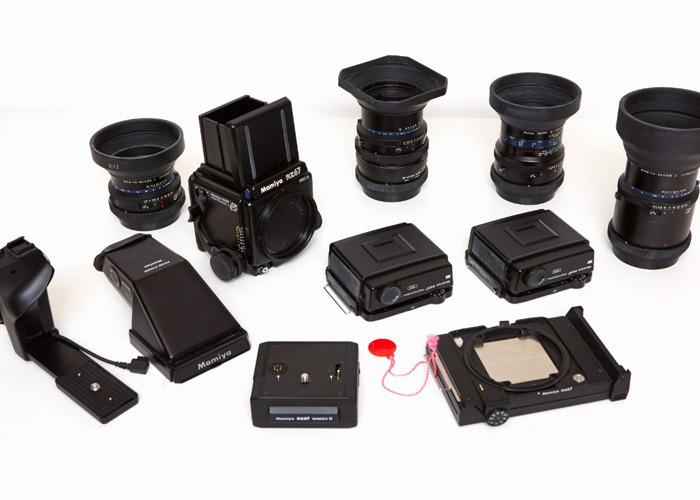 Mamiya RZ Pro ii Ultimate Kit inc Four Lenses - 1