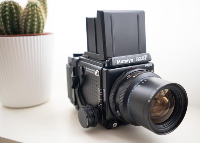 Mamiya RZ Pro II with 50mm f4.5 - 1