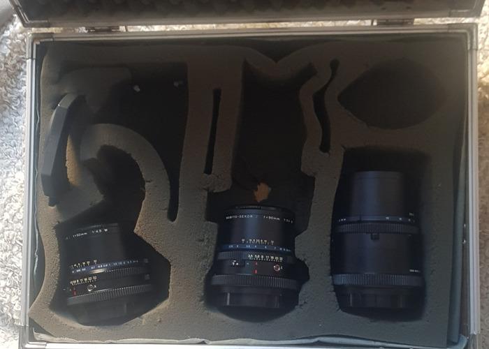 Mamiya rz67 50mm + 90mm + 250mm lenses - 1