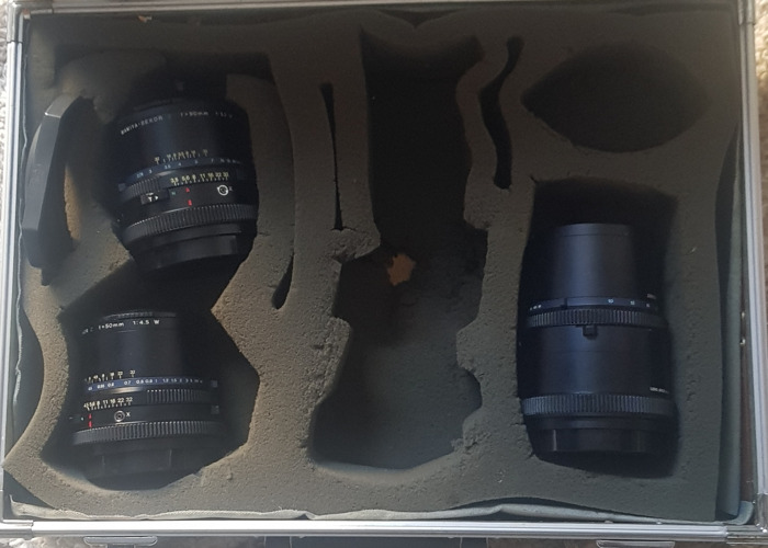 Mamiya rz67 50mm + 90mm + 250mm lenses - 2