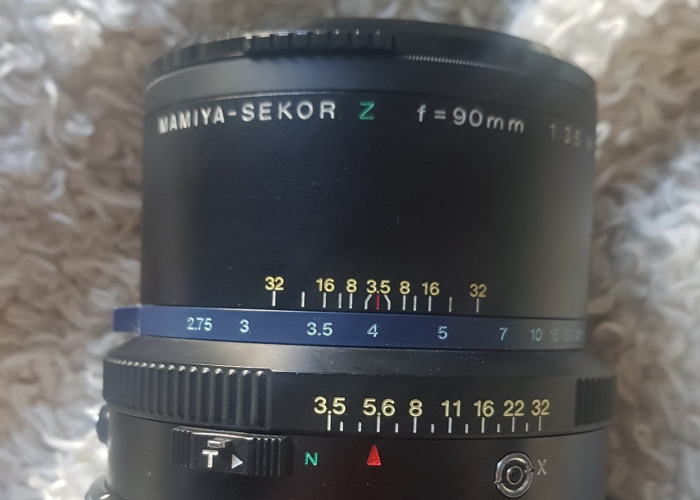 Mamiya RZ67 90mm 3.5 - 1