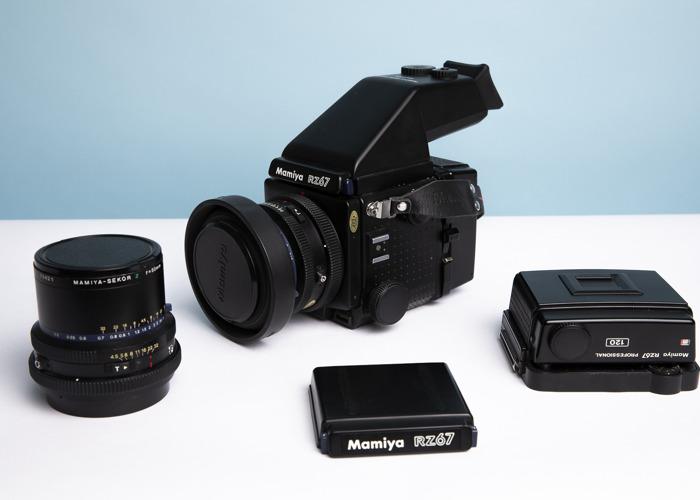 Mamiya RZ67 Medium Format Kit - 110mm, 50mm + 2 Film Backs - 1