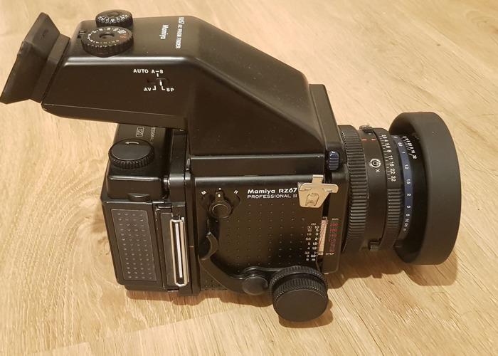 Mamiya RZ67 Pro ii &  Sekor z 110mm f/2.8 & 65mm f4 - 2