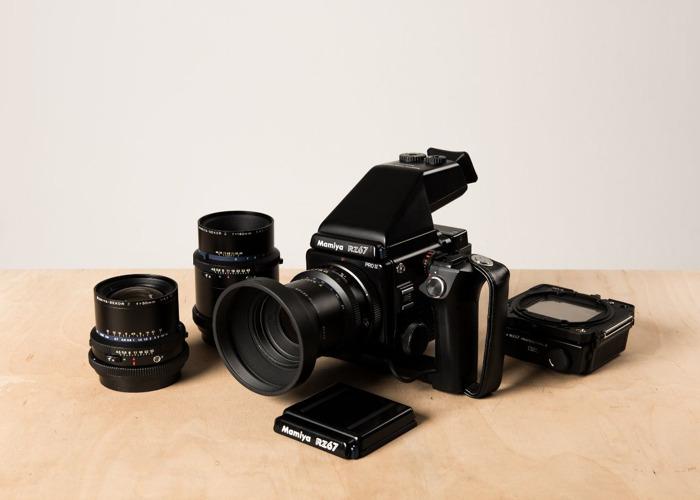 Rent Mamiya RZ67 PRO II Kit - 2 Film Backs, 50mm, 110mm
