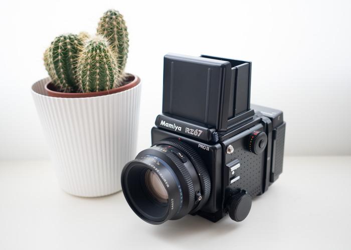 Mamiya RZ67 Pro II with 110mm f2.8 lens - 2