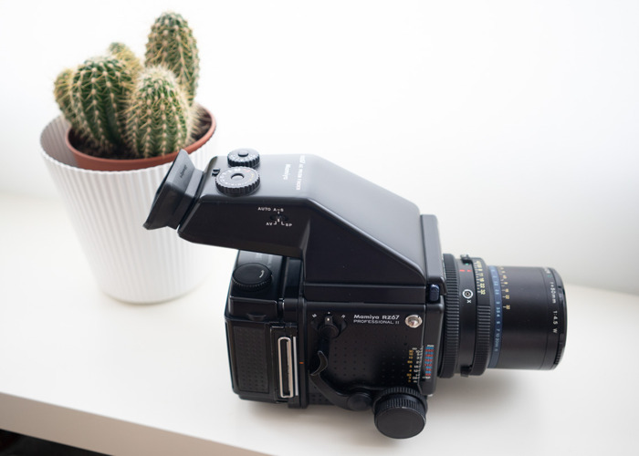 Mamiya RZ67 Pro II with 50mm f4.5 lens and AE Metered Prism  - 1