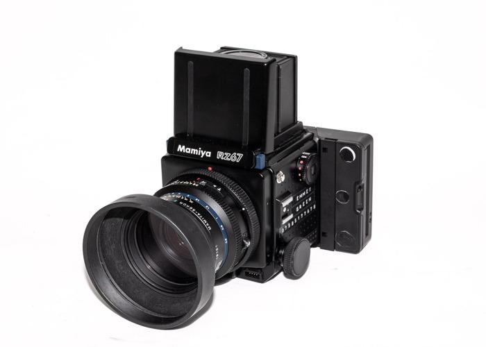 Mamiya RZ67 Pro with Polaroid 600 i-type back & 110mm lens - 1