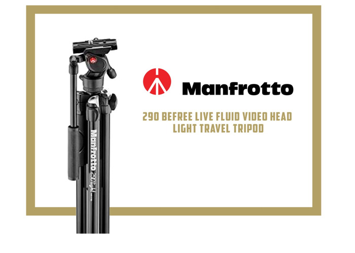 MANFROTTO - BEFREE 290 VIDEO HEAD LIGHT TRAVEL TRIPOD - 1