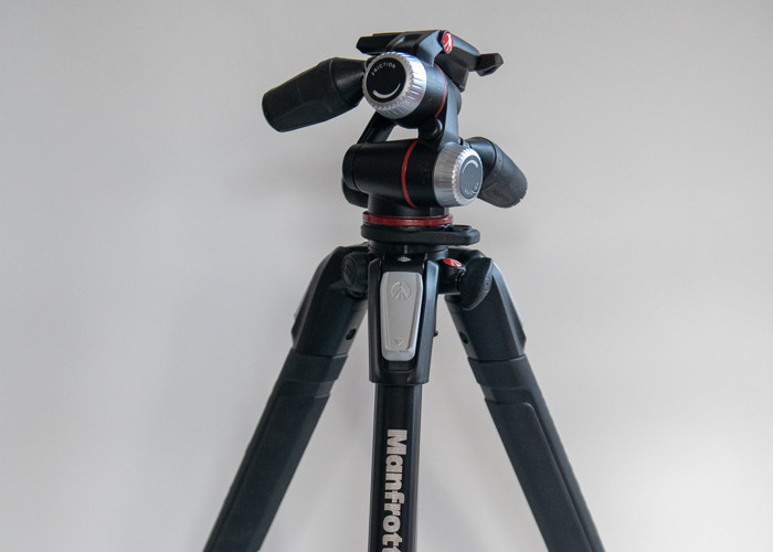 Manfrotto 055 TRIPOD with 90 degree function - 1