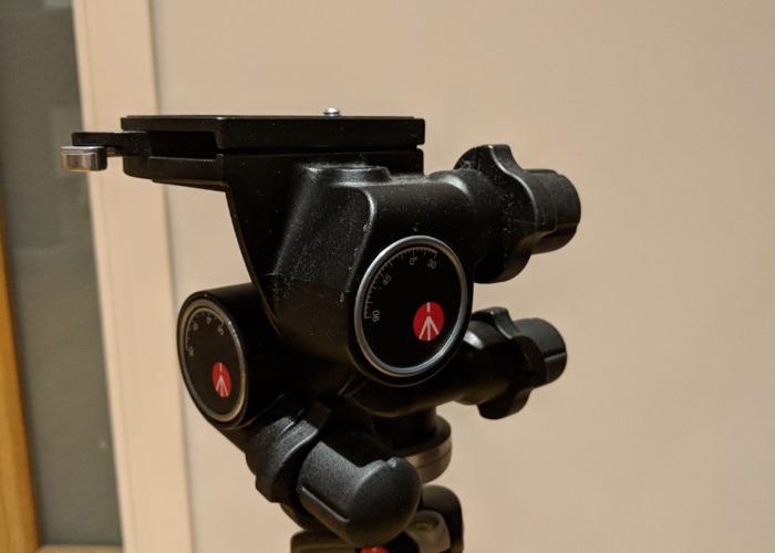 Manfrotto 055 X PRO B Tripod and 410 Geared Head - 2