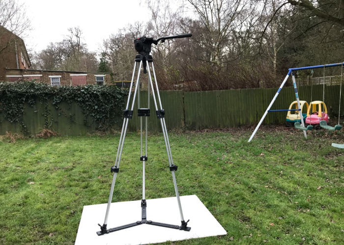 Manfrotto Tripod 116 MK3 Video with Fluid Head - 1