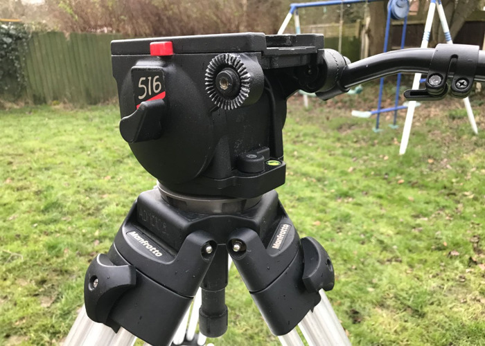 Manfrotto Tripod 116 MK3 Video with Fluid Head - 2
