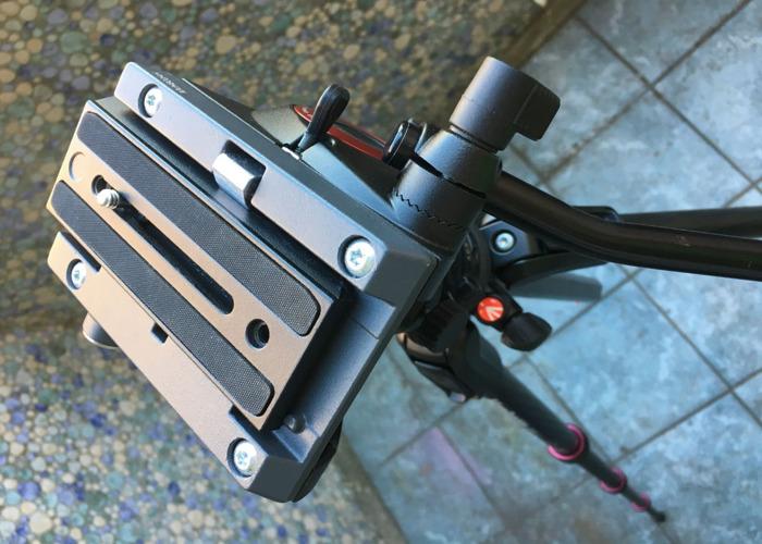Manfrotto Carbon Fibre Tripod 190 GO! with 500 Fluid Video Head - 2
