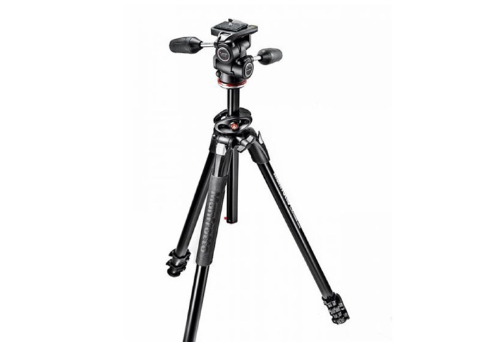 Manfrotto 290 3 way head tripod - 1