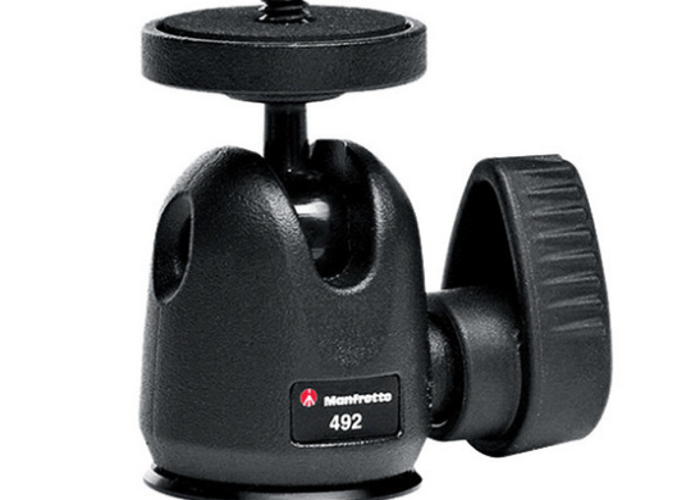 Manfrotto 492 Micro Ball Head w/ cold shoe (2 available) - 1
