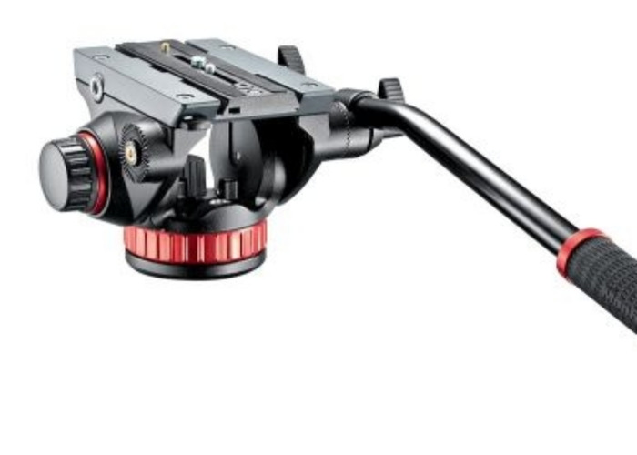 Manfrotto 502 Fluid head with flat base - 1