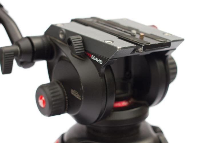 Manfrotto 504 Video Tripod - 1