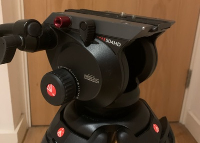 Manfrotto 504HD Tripod system  - 2