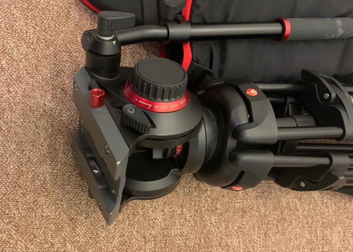Manfrotto 546B Tripod + 504HD Fluid Video Head - 2