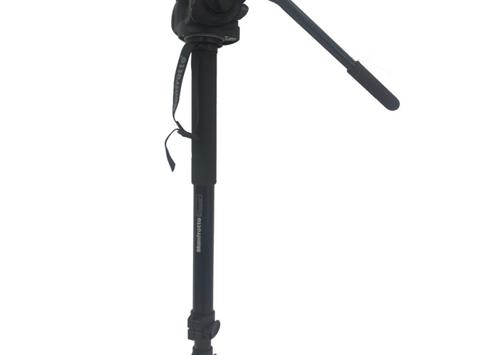 Manfrotto 681B Monopod with 501HDV Head - 1