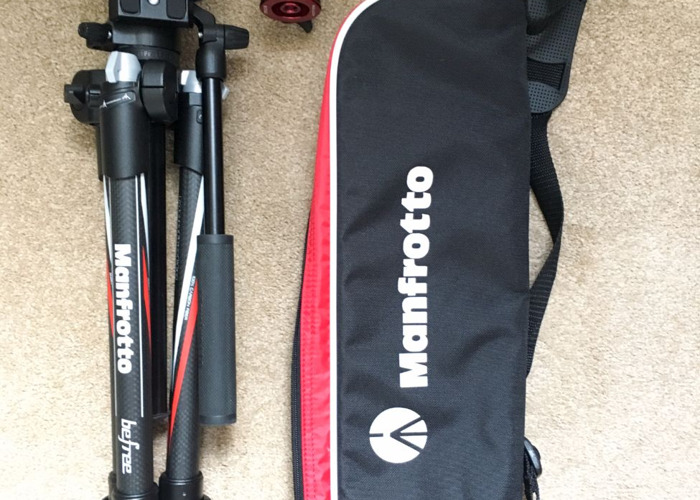Manfrotto Befree Carbon Fibre Travel Tripod - 1