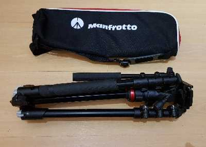 Manfrotto Befree Live Travel Video Tripod - 1