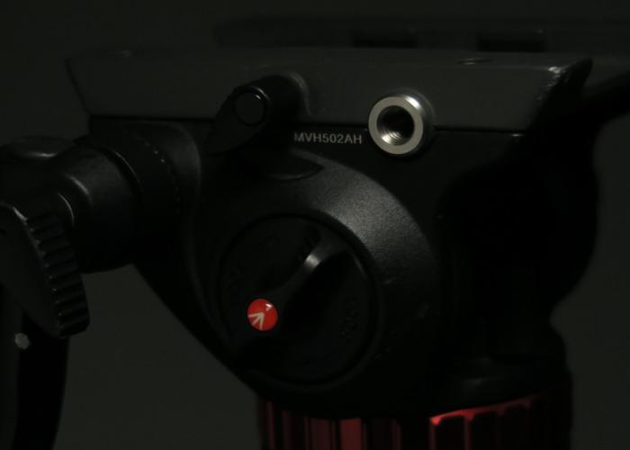 Manfrotto Carbon Fibre Tripod + Video Head Pro - 2
