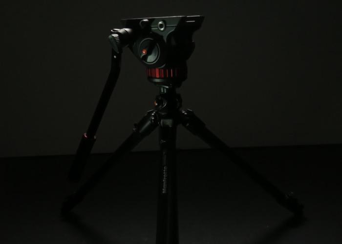 Manfrotto Carbon Fibre Tripod + Video Head Pro - 1