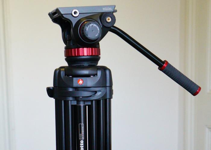 Manfrotto Fluid-head Camera Tripod - 2