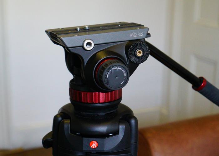 Manfrotto Fluid-head Camera Tripod - 1