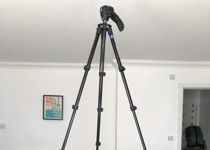 Manfrotto lightweight tripod  - 2