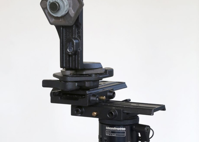 Manfrotto Panoramic Head and heavy uty tripod - 1