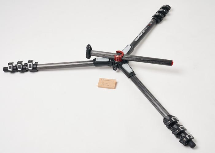 Manfrotto Pro Tripod Carbon Fiber with 90° centre column - 2