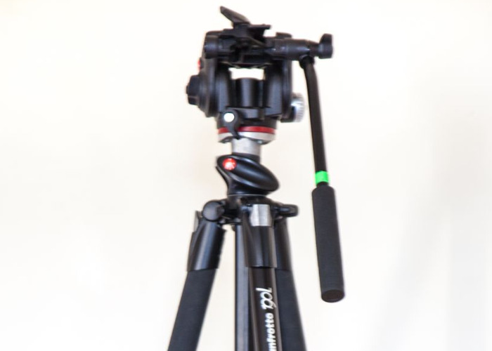 Manfrotto Tripod, 4 Axis with fluid head - 1