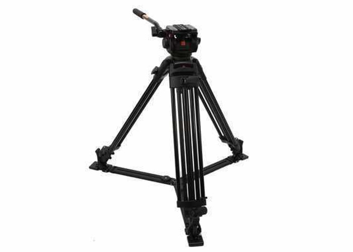 Manfrotto tripod 503HDV fluid head and 3 stage legs - 1