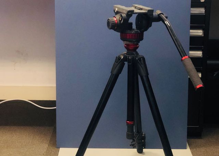 Manfrotto Tripod with Video/Fluid Head - 1
