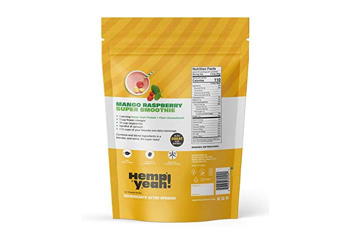 Manitoba Harvest Hemp Pro 50 Protein Powder, 32oz; with 15g of Protein & 7g of Fiber per Serving, Preservative-Free, Non-GMO - 2