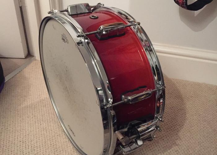 Mapex Meridian Birch Cherry Red Snare Drum (14 inch) - 2