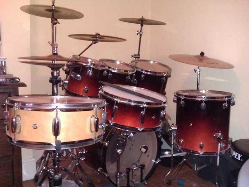 Mapex Pro-M Maple Drum Kit - 1
