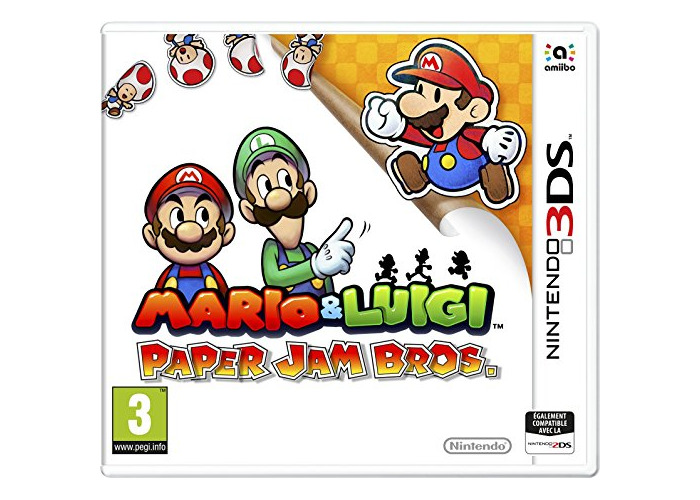 Mario & luigi Paper Jam Bros. [video game] - 1