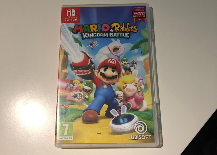 Mario + Rabbids Kingdom Battle - Switch game - 1