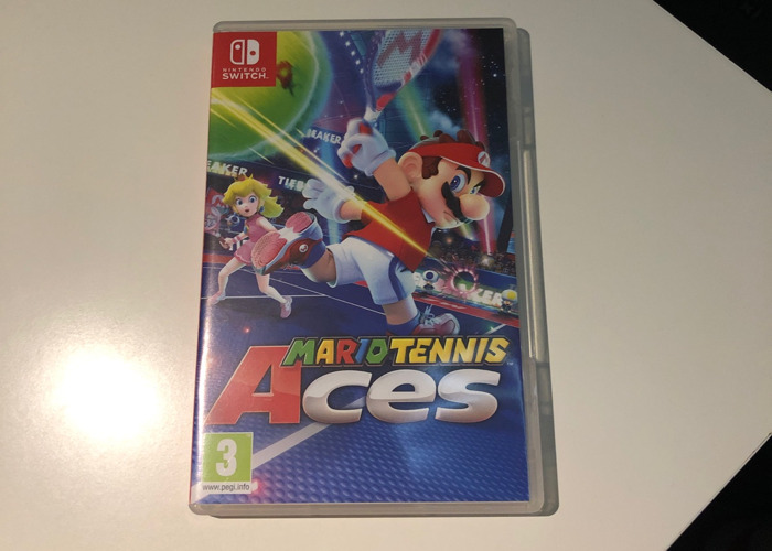 Mario Tennis Aces - Switch game - 1