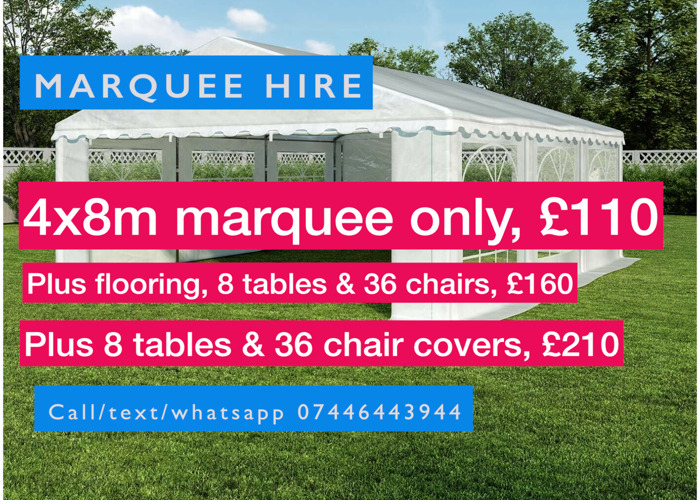 Marquee or gazebo hire - 2